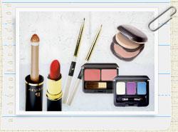 自然化粧品の写真